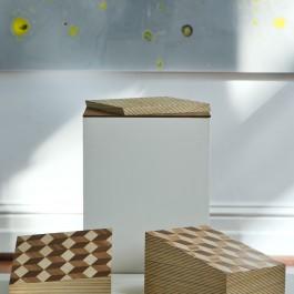 Split Cube (3 sections) – Miik Green & Ben Kovacs