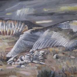 Vapour, Cloud, Field and Figure II