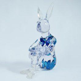 Butterfly Blue Rabbitgirl