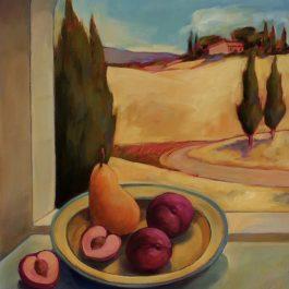 Still Life and Summer Field-Tuscany