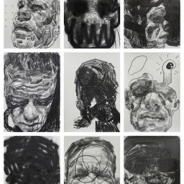 Self-portrait studies #3