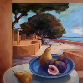 Still Life with Pears and Figs – Rottnest