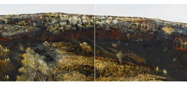The Black Hill (diptych)