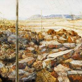 Burrup Peninsula (right detail of diptych)