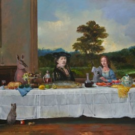 Lunch with Rembrandt