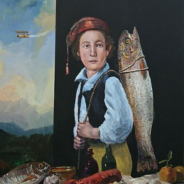 Boy and big Fish