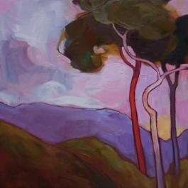Dawn Sky Trees
