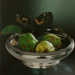 Still Life with Quinces in Silver Bowl
