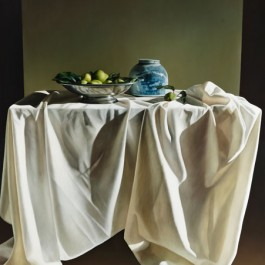 Still Life with Quinces, Chinese Bowl and Drapery