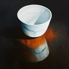 Still Life with Chinese Bowl and Reflections