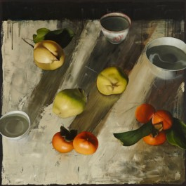Still Life with Quinces and Persimmons