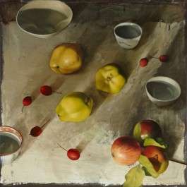 Still Life with Quinces and Apples