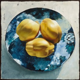 Still Life with Quinces and Blue Dish