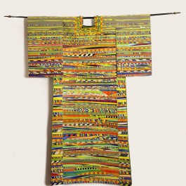 For Joseph (tunic hung on Indian bow)