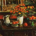 Marigolds and Fruit – Margaret Olley (Edition of 80)