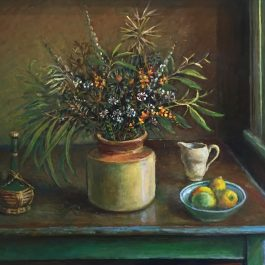 Still Life (with green leaves) c. 1990