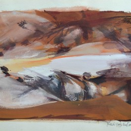 Study for Arnhem Billabong (A study for the major work at MAGNT)