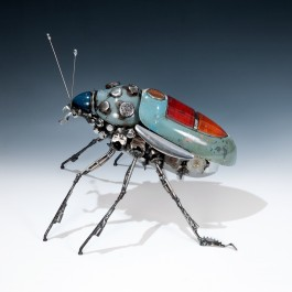 Tall Blue Zephyr Beetle