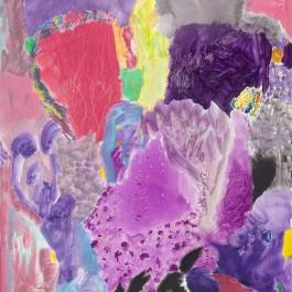 Cobalt violet coral head