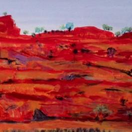 Outback hillside WA