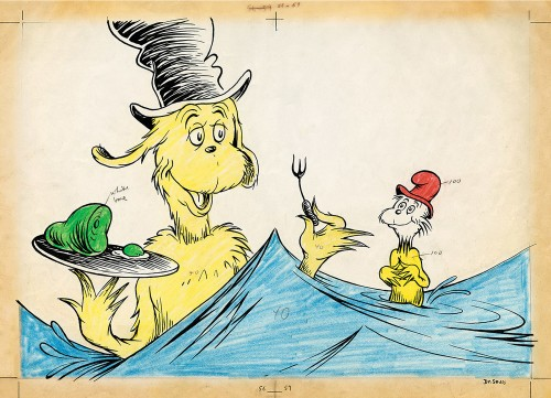 THE ART OF DR SEUSS