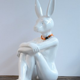 """Lost Rabbit White"" (Edition of 100)"