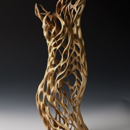 Sandalwood Fire Sculpture