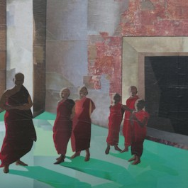Monks and Green Lino