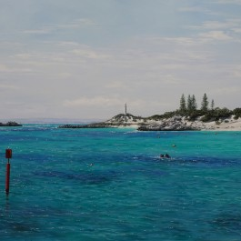 Longreach Bay and Bathurst Light