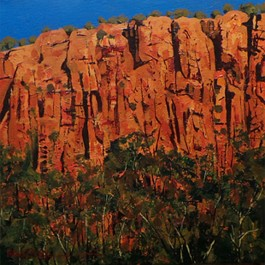 The Red Rockwall