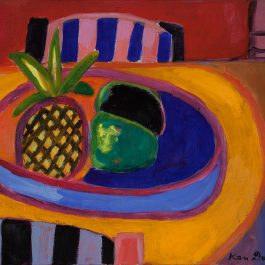 Still life with pineapple