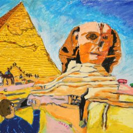 Pyramids and Sphinx, Giza