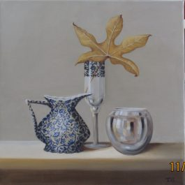 Chinese Maple Leaf and David Gray's Milk Jug