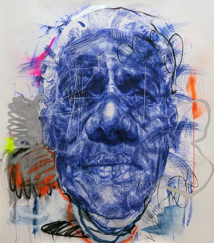 ANDY QUILTY – BIG HEADS, LITTLE HEADS and BURNOUT PAINTINGS