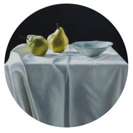Celadon Bowl with Pears