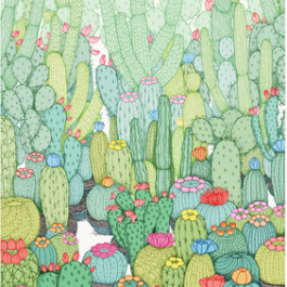 Spring Cacti (Edition of 50)