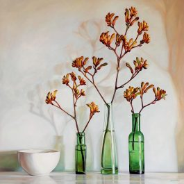 Still Life with Kangaroo Paws