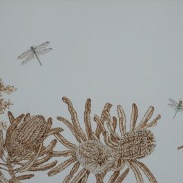 Banksia and Dragonflies