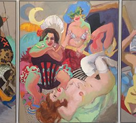 Circus Oz (triptych)