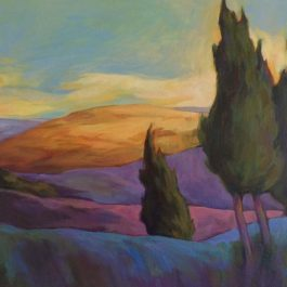 Late Evening Hills-Tuscany