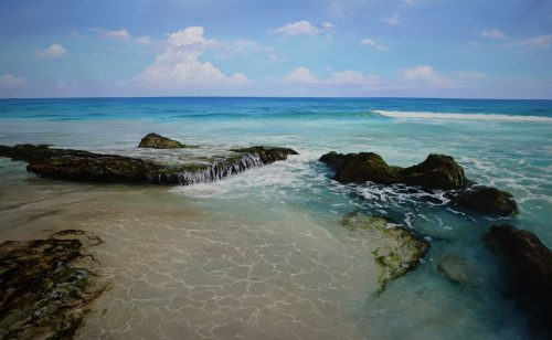 LEIGH HEWSON-BOWER – NEW WORKS: Cottesloe & Leighton Beaches
