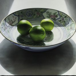 Limes in Chinese Dish