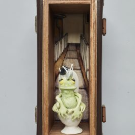 The Toilet – wall diorama D