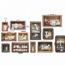 Our Strangely Normal Home Floor Plan – 12 piece wall diorama