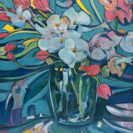Sally Holmes and Tulips