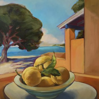 Still Life with Lemons-Rottnest