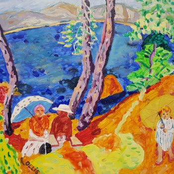 Homage to Bonnard, By the Sea