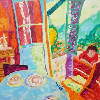 Homage to Bonnard, Dining Room in the Country