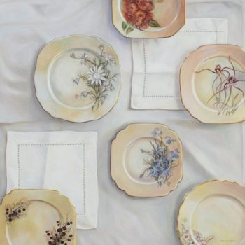 Wildflower Plates