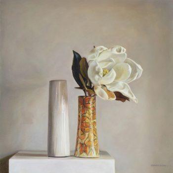 Magnolia and Flora's Vase